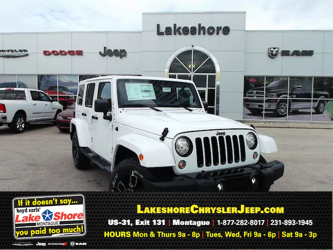 New 2018 Jeep Wrangler Unlimited 5-Speed Automatic Transmission