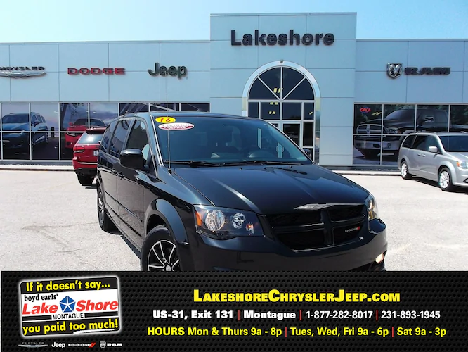 Pre-owned 2016 Dodge Grand Caravan