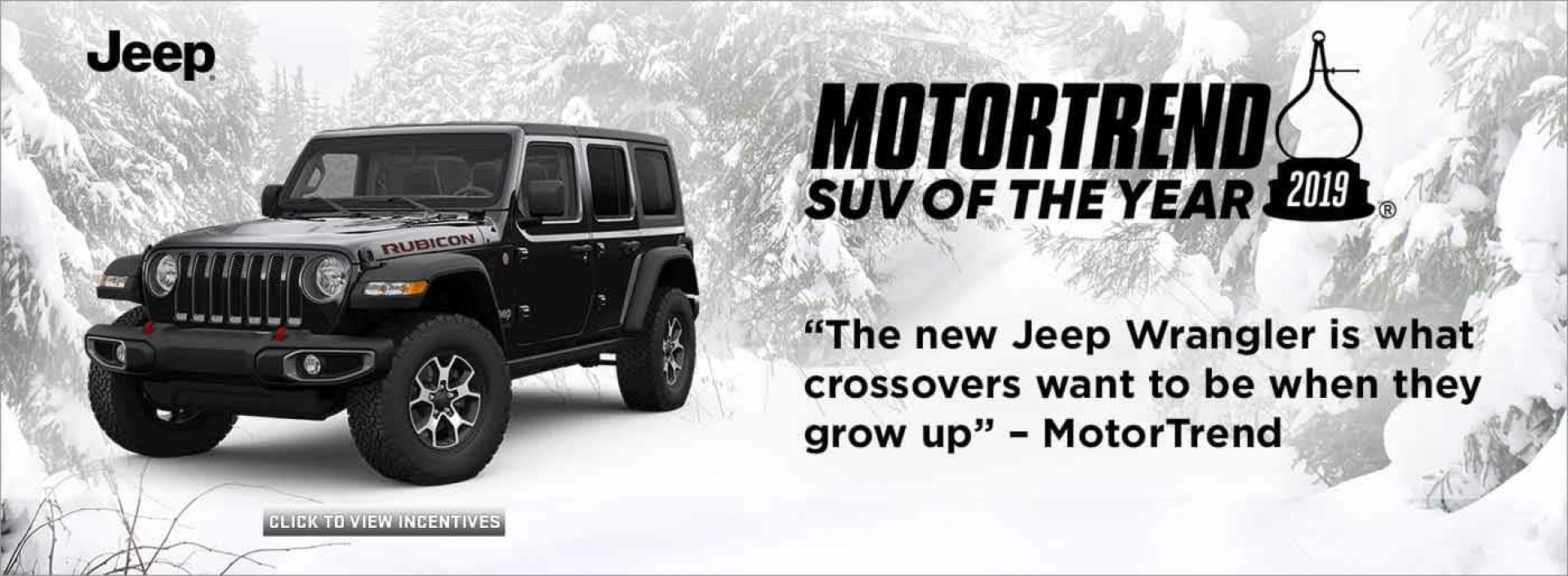 Jeep - Motortrend SUV of the Year